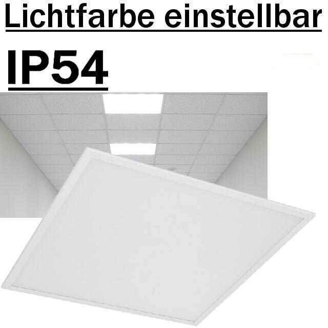 Deckenleuchte LED-Panel IP54 3000/4000/5700K