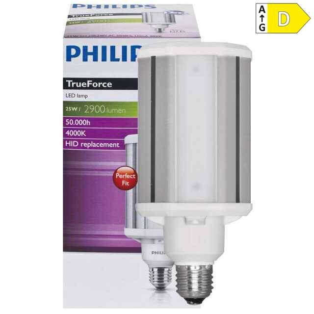E27 led hochleistungslampe 4000k 25w 2900lm 80w hql for Lampe 4000 kelvin