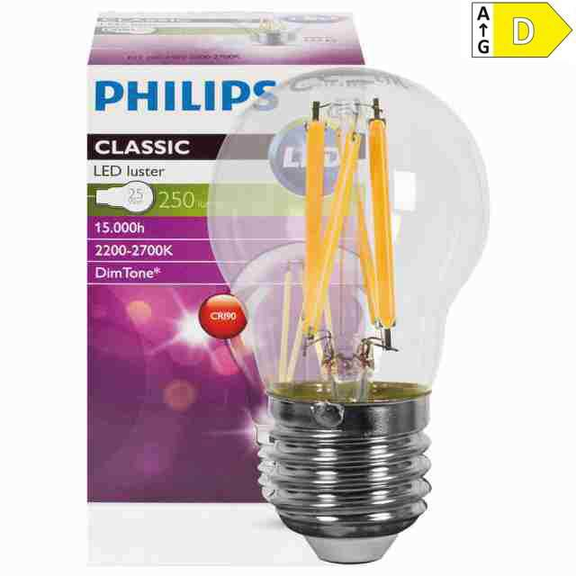E27 LED Tropfe dimmbar 3W warmweiss (25)