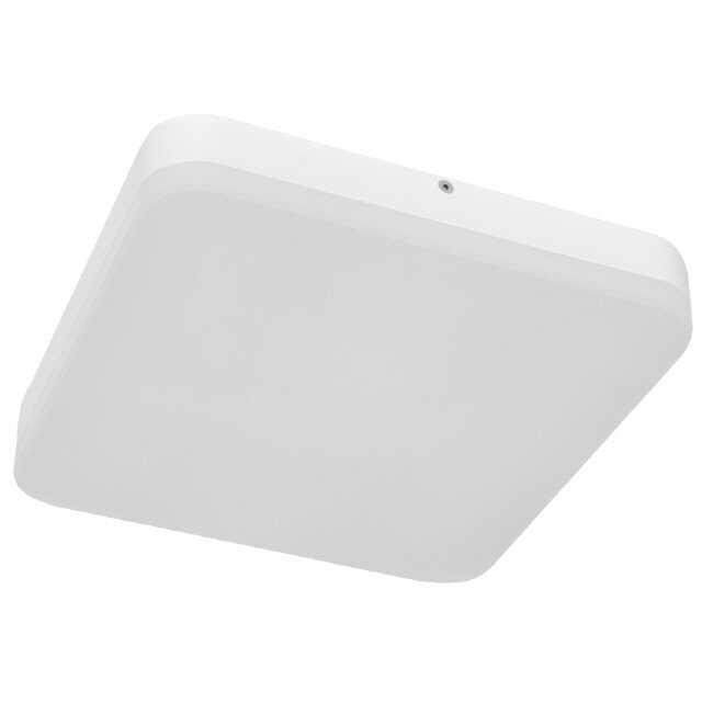 LED-Anbauleuchte IP44  24W warmweiss 28x28cm