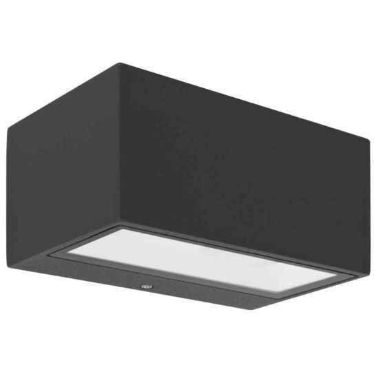LED Außenleuchte anthrazit Up & Down 9W IP54