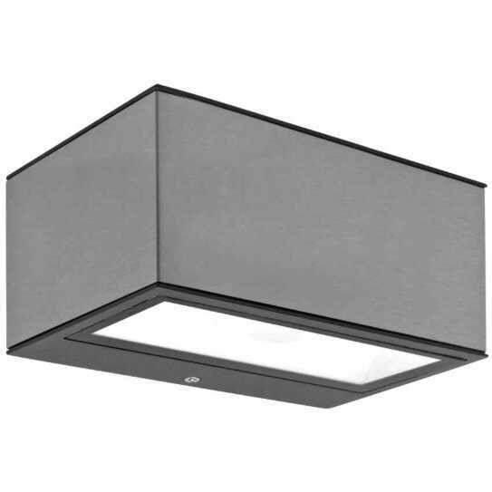 led au enleuchte wei up down 9w ip54. Black Bedroom Furniture Sets. Home Design Ideas
