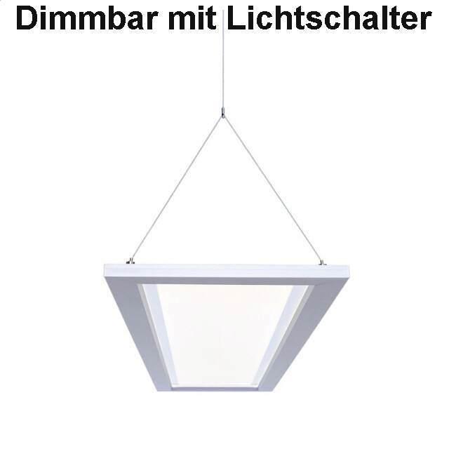 Led Buro Pendelleuchte Dimmbar Mit Lichtschalter Ugr 19