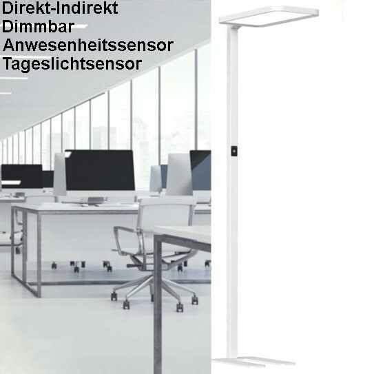 b ro arbeitsplatz stehleuchte led pr sens und tageslichtsteuerung. Black Bedroom Furniture Sets. Home Design Ideas