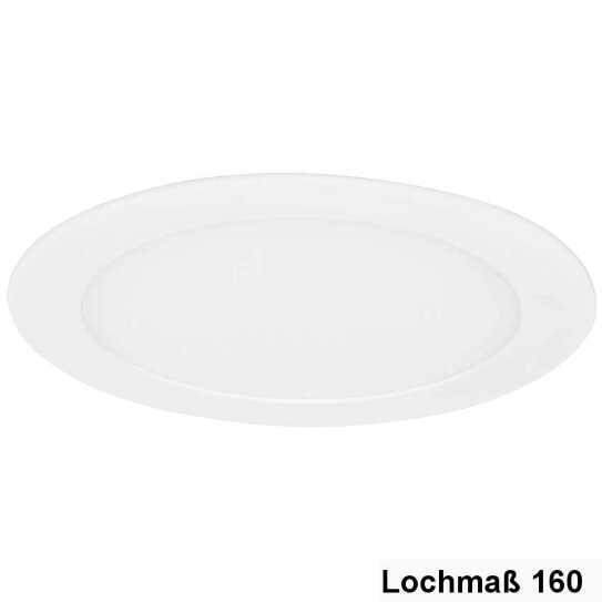 LED Downlight Rund 12W 3200K, Ø-170mm