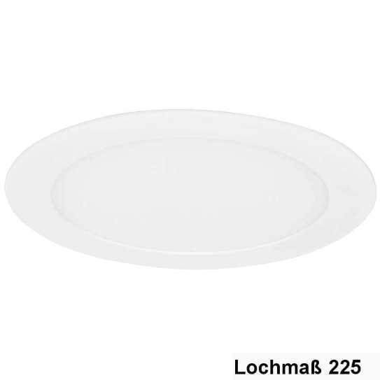 LED Downlight Rund 18W 3200K, Ø-238mm