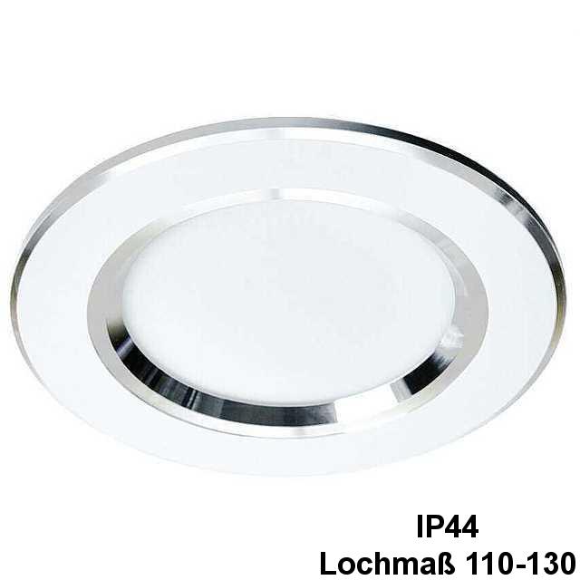 Led Einbaustrahler Ip44 9w 4200k 675lm O 118mm