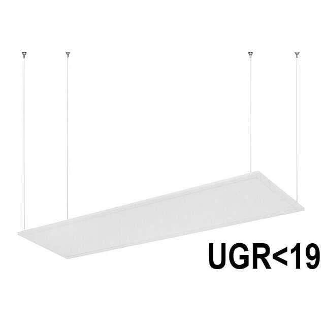 LED Hängepanel 120x30 cm neutralweiss 32W