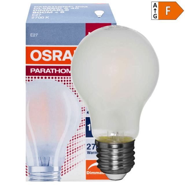 LED Lampe dimmbar E27 7W Retrofit 2700K -> Led Lampe Dimmbar