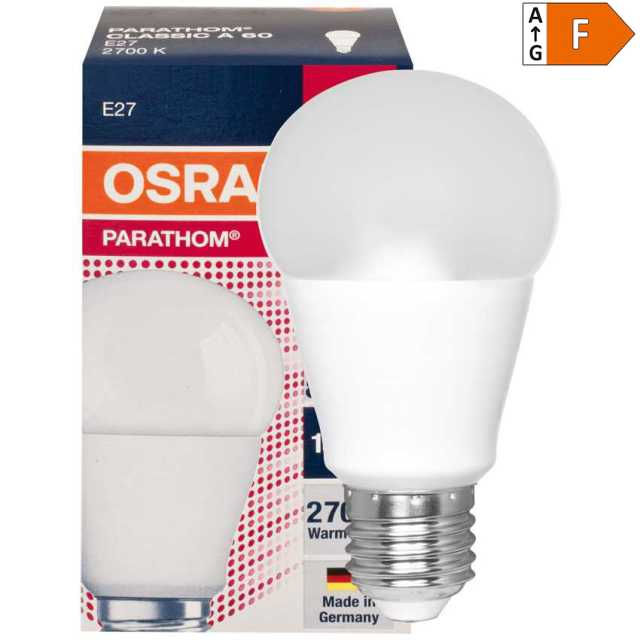 LED Lampe E27, 9W 2700K ersetzt 60W