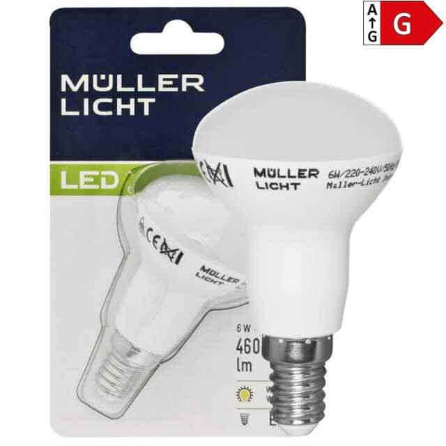 LED Lampe R50 E14 6W 2700K (20W) ...