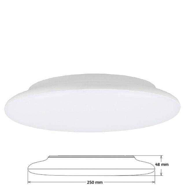 led leuchte flat 300mm 3000k 18w dimmbar ik08. Black Bedroom Furniture Sets. Home Design Ideas