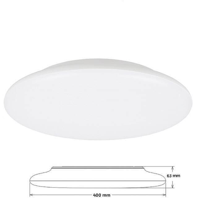 led leuchte flat 400mm 3000k 25w dimmbar ik08. Black Bedroom Furniture Sets. Home Design Ideas