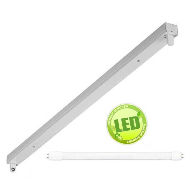 led lichtleiste 150cm 1 x 24w 6500k. Black Bedroom Furniture Sets. Home Design Ideas