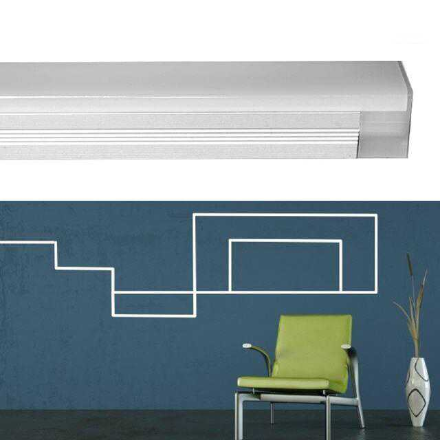 led lichtleiste click 4 5w 300mm. Black Bedroom Furniture Sets. Home Design Ideas