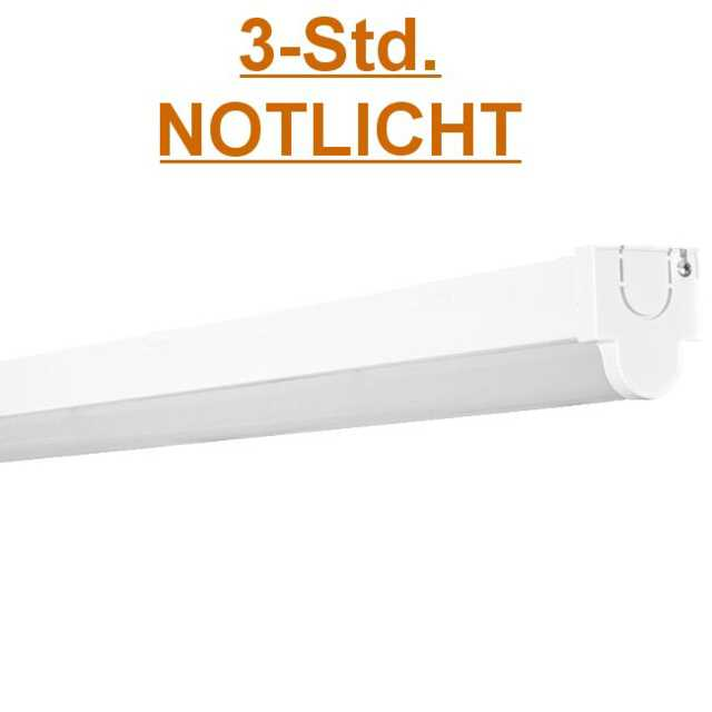 lichtleiste led langfeldleuchte 150cm 60w mit 3h notlicht akku. Black Bedroom Furniture Sets. Home Design Ideas