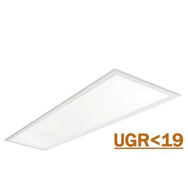 LED Panel 125x31cm 4000K 44-53W UGR<19