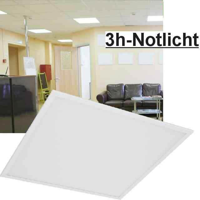 Led Panel mit Notlicht 3000K 40W