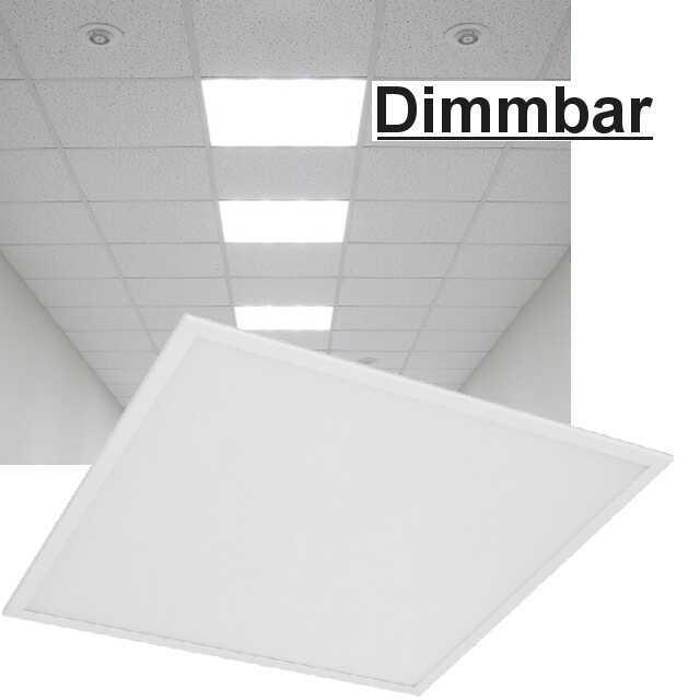 led panel dimmbar dali 4000k 36w. Black Bedroom Furniture Sets. Home Design Ideas