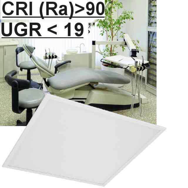 Led Panel CRI>90 UGR<19 3000K