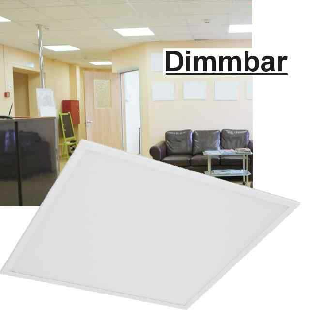 led panel dimmbar mit lichtschalter 4000k 40w. Black Bedroom Furniture Sets. Home Design Ideas