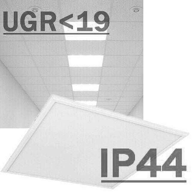 Led Panel IP44 UGR<19 4000K 33-40W