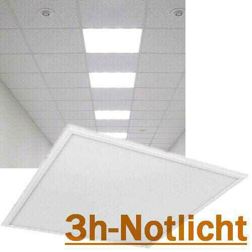 Led Panel 40W, 3000K mit 3h-Notlicht
