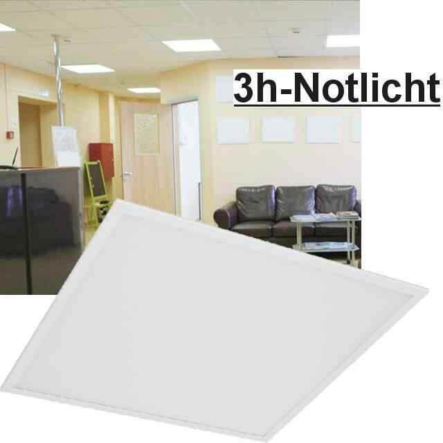 Led Panel mit Notlicht 62x62 6000K 40W