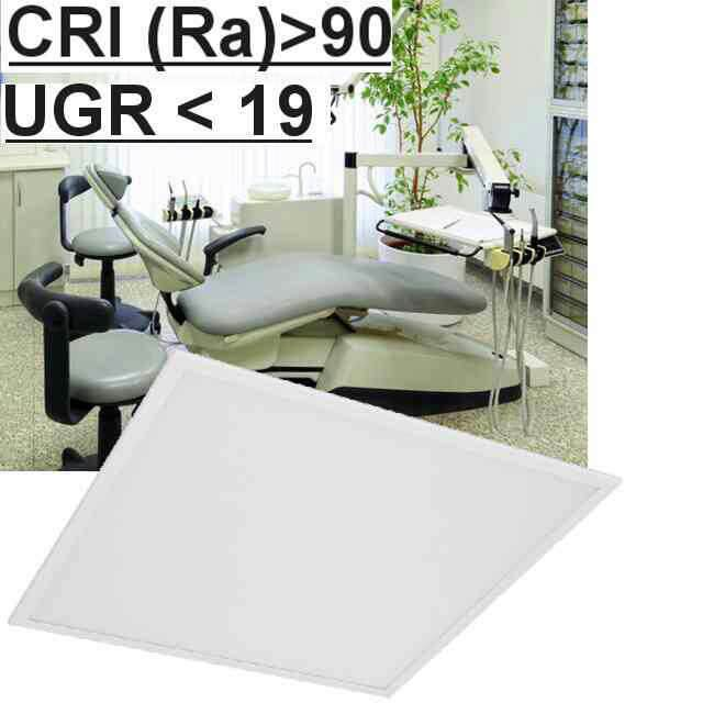 Led Panel CRI>90 UGR<19 4000K