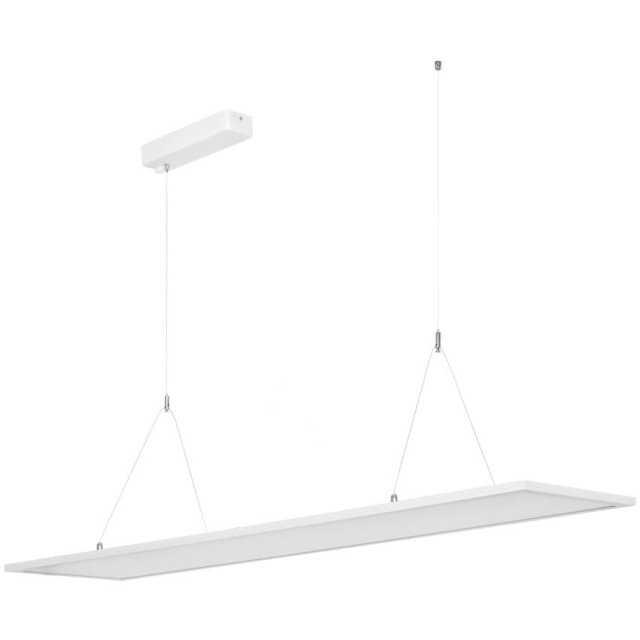 led pendelleuchte panel 120x30 direkt indirekt 4000k. Black Bedroom Furniture Sets. Home Design Ideas