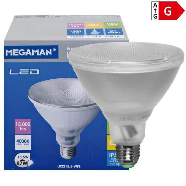 led par38 reflektorlampe e27 15 5w ersetzt 87w. Black Bedroom Furniture Sets. Home Design Ideas