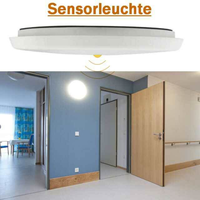LED Sensorleuchte 18W 3000K IP54, 300mm IK08