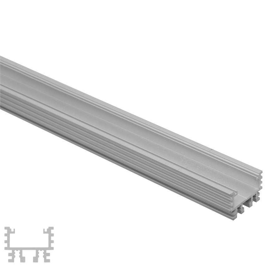Led Profil Aussen : led streifen alu profil u silber 2m innen 15mm ~ Markanthonyermac.com Haus und Dekorationen