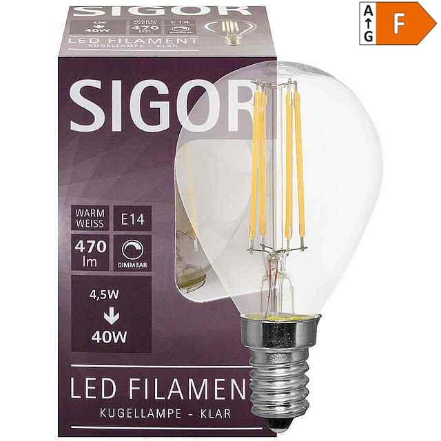 Kerzen Lampe Leuchte Warmweiß 6er 4W E14 400lm LED Birnen ersetzt 40W Glühlampe