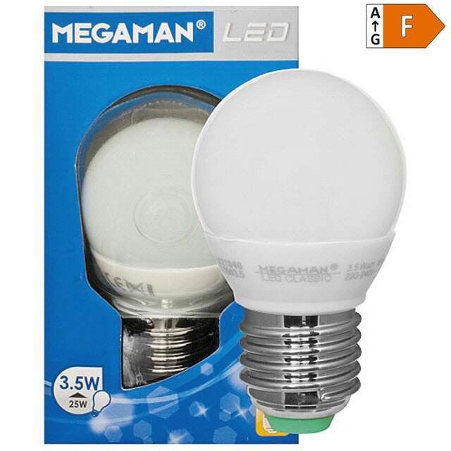 LED Tropfenlampe E27 230V 3,5W, warmweiss (25)