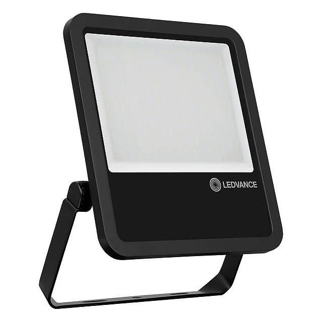 osram aussenstrahler schwarz led 200w ip65 6500k. Black Bedroom Furniture Sets. Home Design Ideas