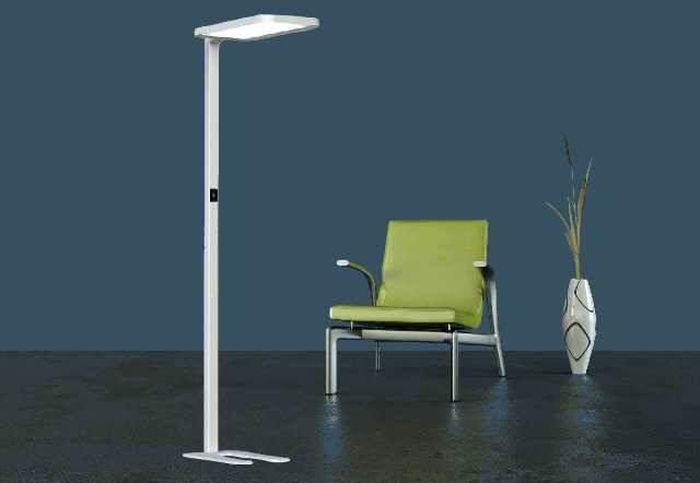 LED Büro Stehleuchte für die richtige Arbeitsplatzbeleuchtung