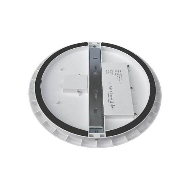 led leuchte rund 30w neutralwei ip54 ik08 400mm. Black Bedroom Furniture Sets. Home Design Ideas
