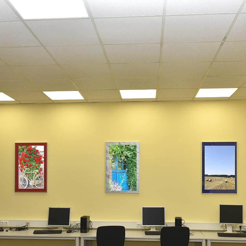 led panel mit notlicht lichtfarbe einstellbar 5700 4000 3000k. Black Bedroom Furniture Sets. Home Design Ideas