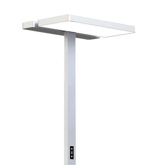 Büro Arbeitsplatz Stehleuchte LED Präsens- und Tageslichtsteuerung