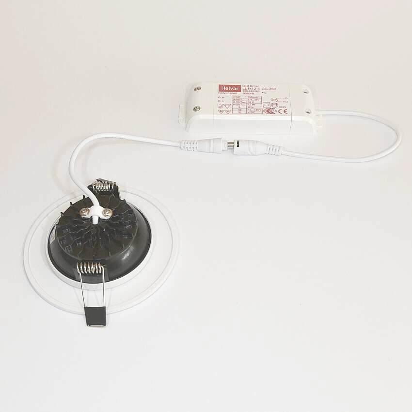 led einbaustrahler ip44 5w 4200k 375lm 100mm. Black Bedroom Furniture Sets. Home Design Ideas