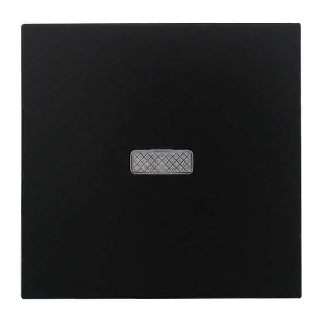 schalter wippe kontrolschalter schwarz matt. Black Bedroom Furniture Sets. Home Design Ideas