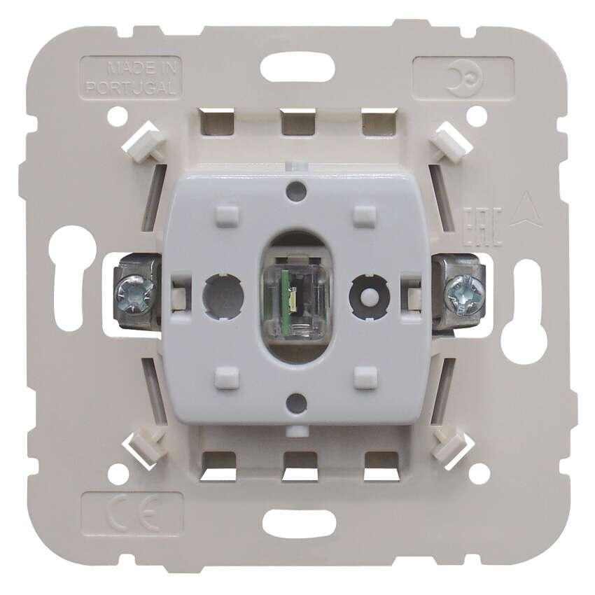 Schaltereinsatz, Aus-Kontrollschalter 2-polig LED