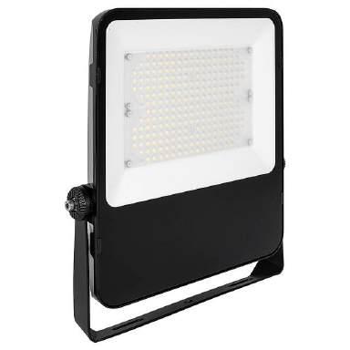 LED Außen Strahler 10-50W Silber Schwarz Weiß 3000-6500K Bewegungsmelder IP44