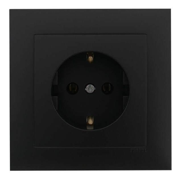 steckdose unterputz komplett schwarz matt. Black Bedroom Furniture Sets. Home Design Ideas
