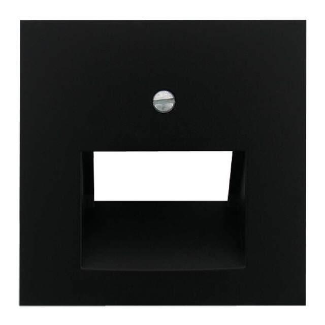 steckdose unterputz uae abdeckung schwarz matt. Black Bedroom Furniture Sets. Home Design Ideas