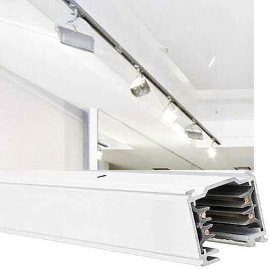 3 phasen stromschienen leuchten led stromschienenstrahler. Black Bedroom Furniture Sets. Home Design Ideas