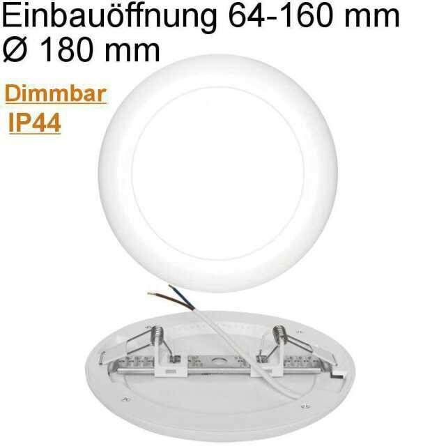 Universal Downlight LED 12W 4000K neutralweiß