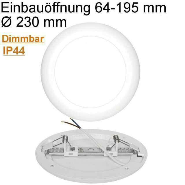 Universal Downlight LED 18W 4000K neutralweiß